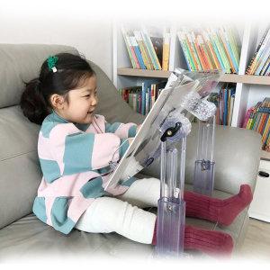 어린이 북스탠드 유아투명독서대 독서책상 HD601책상용