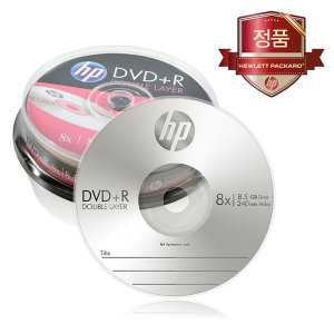 더블레이어 DVD+R DL 8.5GB 10장/공DVD/CD/듀얼레이어