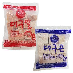 대구알 대구곤 / 고니 알탕재료 / 800g + 800g