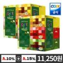 코디 에코그린 각티슈 180매 6입 2개/화장지 휴지