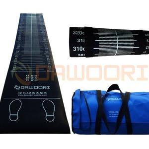 제자리멀리뛰기 측정매트 550X4250X8mm 약25kg 고무재