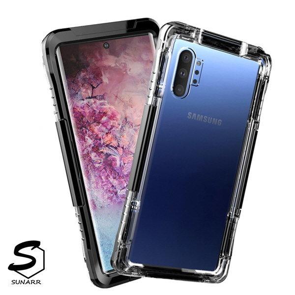 갤럭시노트10 5G 컬러 방수 하드 핸드폰 케이스