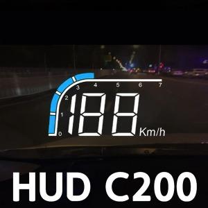 HUD A100S rpm C200 C300 자동차 헤드업디스플레이