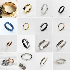 반지의제왕 절대 반지 남자 남성 패션 티타늄 써지컬