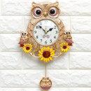 인테리어시계 해바라기부엉이Q(P)/집들이개업선물소품