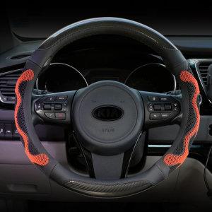 GT 3D벌집그립카본핸들커버 승용RV승합트럭버스화물차