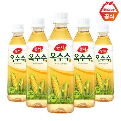 [동서] 동서 식수음료 옥수수차 500ml 20펫