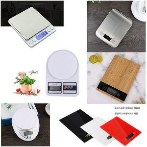 타이머 디지털 전자 저울 주방 계량 휴대용 제빵 정밀