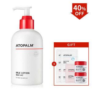 (현대Hmall) 아토팜  MLE 로션 대용량 300ml  gift  크림 8ml X 2개(∼9/26)