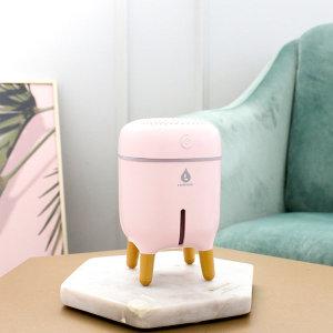 미니 가습기 추천 사무실 무드등가습기 라온하제 핑크