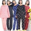 부드러운 피치여성잠옷 상하세트 홈웨어 수면파자마