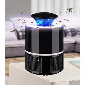 LED 모기/해충 퇴치기 모기 유인 흡입식 트랩(블랙)