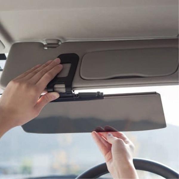 햇빛 눈부심 UV 차단 차량용 클립식 와이드 썬바이저