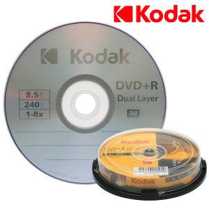 더블레이어 DVD+R DL 8.5GB 10장/듀얼레이어/공DVD/CD