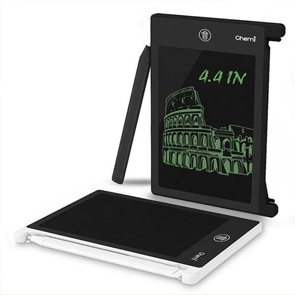 부기 보드 전자 노트 칠판 메모장 메모판 4.4형 블랙