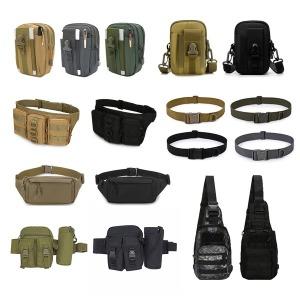 등산 미니 힙쌕 스마트폰 크로스 밀리터리 보조 가방
