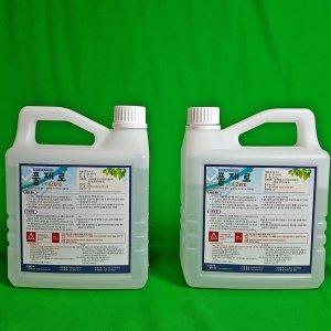 친환경제초제 풀제로 2L 2통(10배희석) 비닐하우스제초