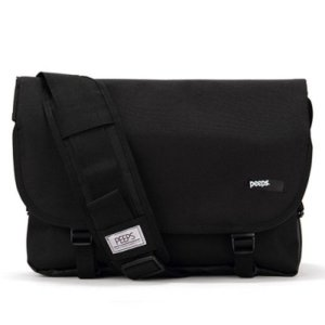 핍스메신저백 PEEPS essential messenger bag(black)