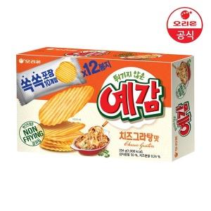 오리온 예감 치즈그라탕 12P 소포장 192g