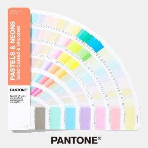 팬톤 컬러북 파스텔 네온 가이드 CU 1권 GG1504A