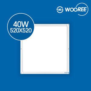장수램프 LED평판등 엣지등 40W 520X520 KS인증