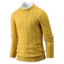 남자 라운드넥 니트 스웨터 가성비 픽스꽈배기 tn0953