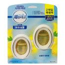페브리즈 비치형 화장실용 상큼한 레몬향 (6mlx2입)
