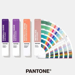 팬톤 컬러칩 솔리드 가이드 세트 GP1605A 칼라북