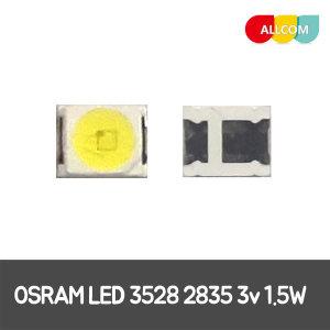 OSRAM TV수리 교체 LED 백라이트 3528 2835 3v 1.5W