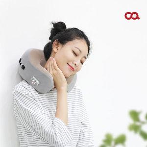트래블러 안마기 여행용 목 베개 마사지기 M0043