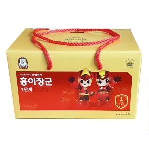 정관장 홍이장군 1단계 90포 어린이홍삼