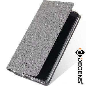 데켄스 아이폰11프로맥스 캔버스 플립 커버 케이스 M579