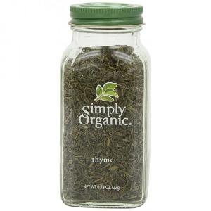 Simply Organic Thyme Leaf 심플라이 오가닉 0.78oz