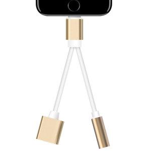 (VSER)  최신iOS호환 피카 2in1 Y형 8핀 3.5mm 듀얼 이어폰젠더 iPhone 아이폰 SE 11 프로 맥스 XS XR 8...