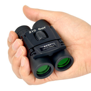 21C쌍안경 여행 망원경 미니 포켓 접이식 8x12 소형