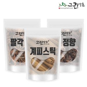 뱅쇼만들기 시나몬 계피스틱 정향 팔각 세트