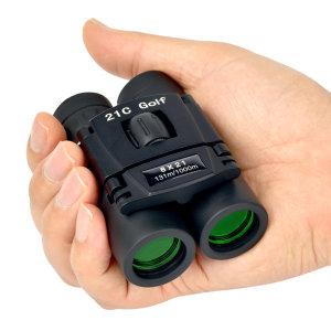 8x21 고급접이식 휴대용쌍안경 8배줌 여행 미니망원경