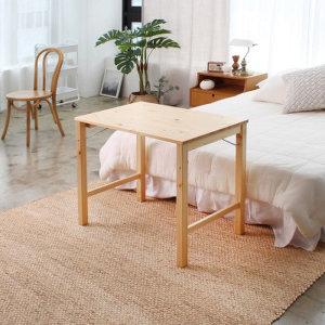 (핫트랙스) 원목 접이식 테이블