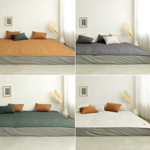 소프트터치 먼지없는 패밀리 침대패드 S+S/ 보웰