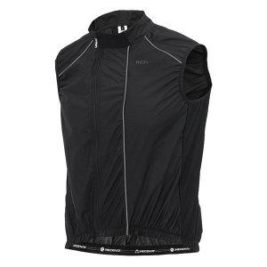 MCN 자전거 바람막이 조끼 블랙 (여름용)