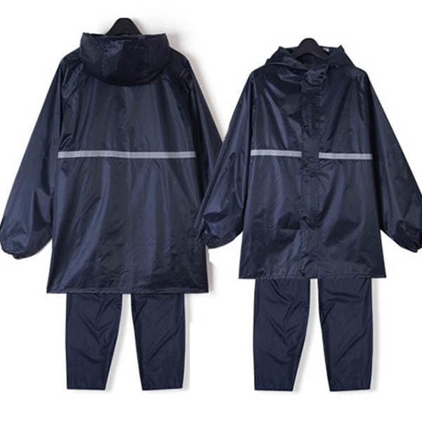 투피스우의 우비 레인코트 골프우산 배달복장 방수옷