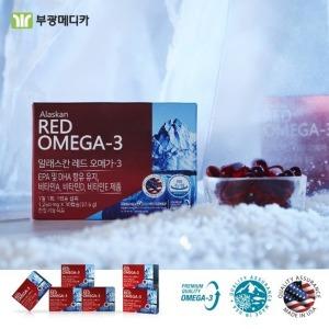 미국직수입완제품 100%알레스카 레드오메가3 12개월분