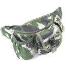 밀리터리 멀티 힙쌕 크로스 허리 가방 등산용