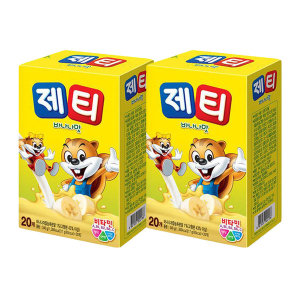 제티 바나나맛 40T(20TX2개)