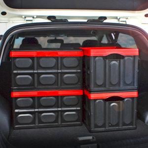 킨톤 트렁크정리함 접이식 하드케이스 자동차 캠핑 57L