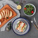 폴라브 접시 24cm (5P) / 접시세트 그릇