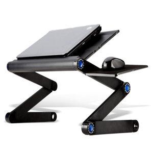 U35 침대 노트북 거치대 받침대 휴대용 접이식 (대)