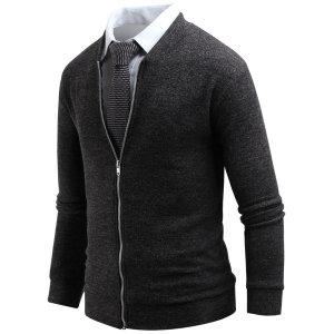남자 다니엘 니트집업 가디건 남성 집업 스웨터 cd602