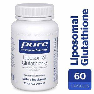 퓨어인캡슐레이션 리포소멀 글루타치온60정 Liposomal
