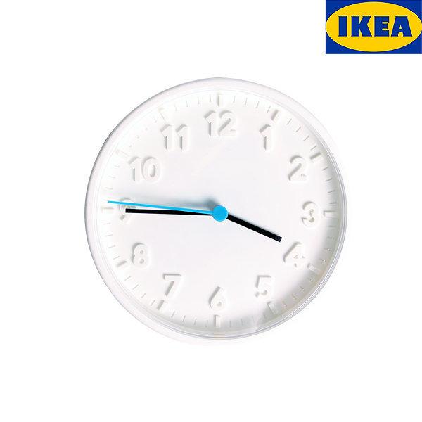 이케아  벽시계 무소음 인테리어 시계 STOMMA스톰마